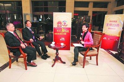 政协委员、吉利掌门人李书福畅谈战略转型