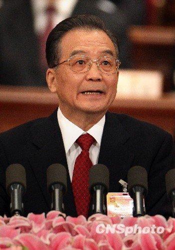 台湾媒体关注温家宝政府工作报告涉台内容