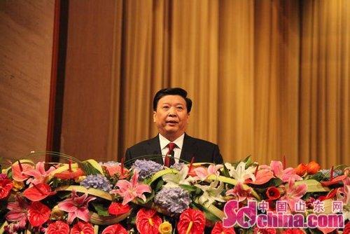 资料图:山东省省长姜大明