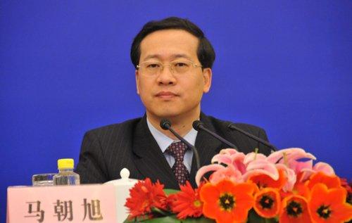 图文:外交部新闻司司长 马朝旭