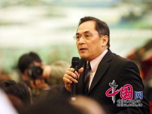 图文:美国有线电视新闻网记者提问杨洁篪