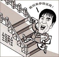 希望代表委员的星光盖过刘翔
