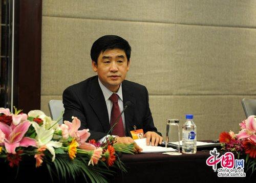 同煤集团董事长吴永平代表:煤海扬帆逐浪高_新