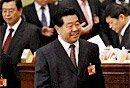 组图:贾庆林出席政协会议第二次全体大会