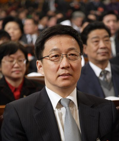 上海市长韩正解读人民关注的五大焦点问题