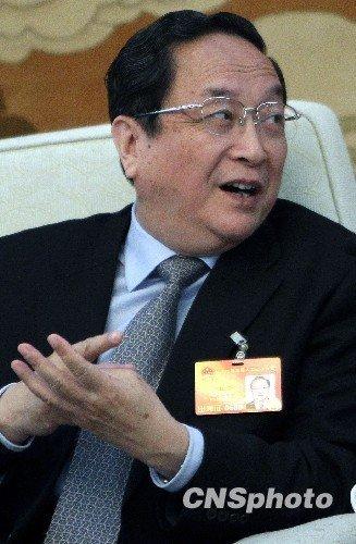 资料图:中共上海市委书记俞正声 中新社 任晨鸣摄
