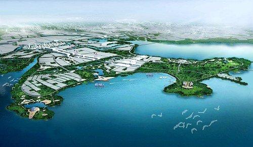 青岛高新区规划效果图(资料图)