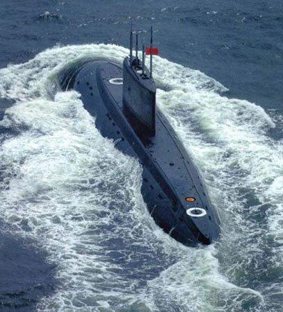 日本将持续建造世界最大柴电潜艇对抗中国(图)