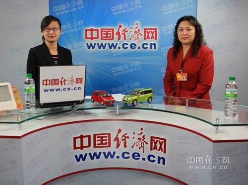 """王凤英:树立""""中国车""""概念将鼓励自主品牌"""