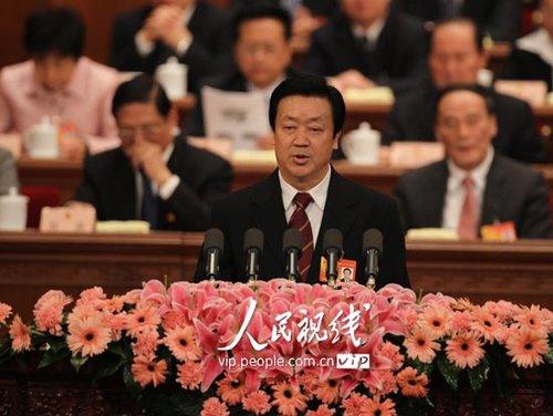 图文:最高人民法院院长王胜俊
