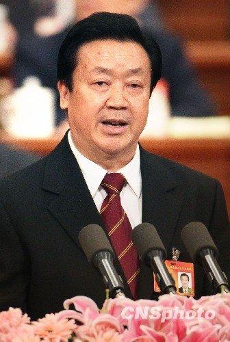 """王胜俊谈""""打黑除恶"""":判处罪犯3231人(图)"""
