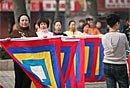 两会期间的北京:11日之流动的剧团