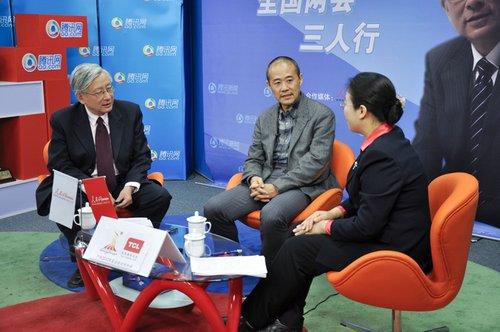万科王石先生、中国社科院陈迎博士作客三人行,谈低碳经济