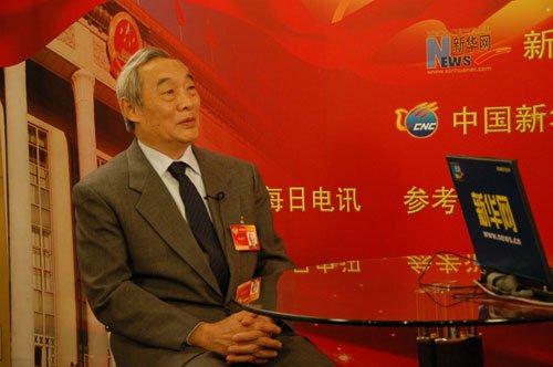 图文:全国政协委员徐庆平接受新华网专访