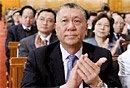 图文:何厚铧高票当选全国政协副主席