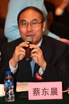 全国人大代表、石药集团董事长蔡东晨(资料图)