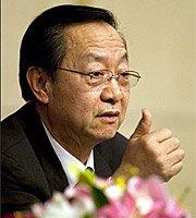 高清:工业和信息化部部长李毅中记者会风采