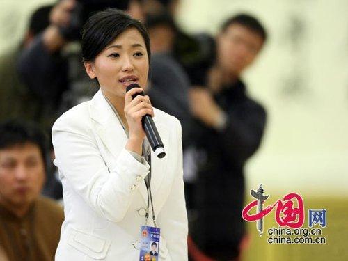 图文:《人民日报》记者提问温家宝总理