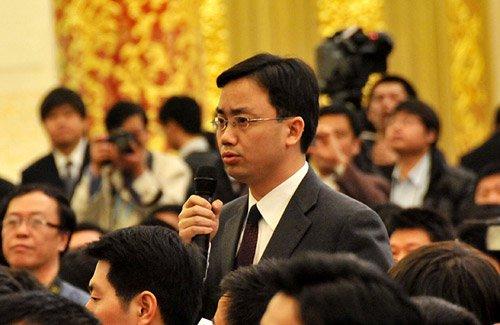 在十一届全国人大三次会议记者会上温家宝答中外记者问