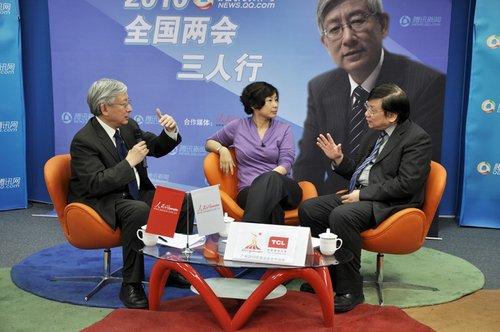 闾丘露薇、唐钧作客两会三人行谈中国中产阶级