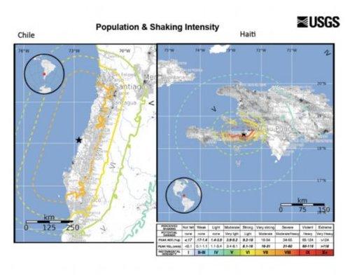 智利大地震造成地轴移动改变地球质量平衡