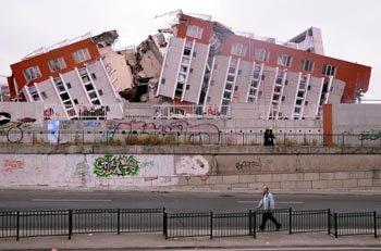 地震频发放大恐慌 引发各国高度关注(图)