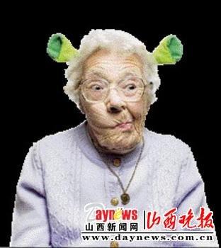疯狂外婆走红网络
