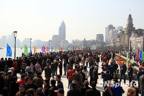 上海新外滩改造后正式亮相 将保持50年不变