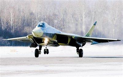 俄罗斯T-50型第五代战机 图片来源:解放军报
