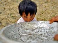 干渴的云南壮族村民们