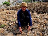 灾区直击:贵州省贞丰县的留守老人