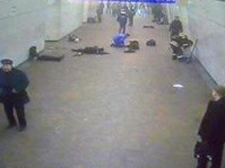 图文:莫斯科地铁爆炸事故现场