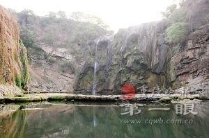 黄果树瀑布只剩1米宽 每天断流18小时