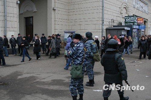 组图:莫斯科有关部门成立现场紧急指挥部