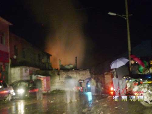 河南伊川煤矿煤与瓦斯突出引起爆炸致2死1伤