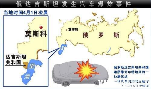 俄达吉斯坦发生汽车爆炸事件致2人死亡