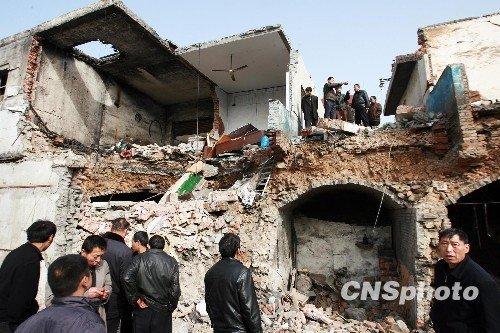 图:河南伊川矿难死亡人数上升至12人
