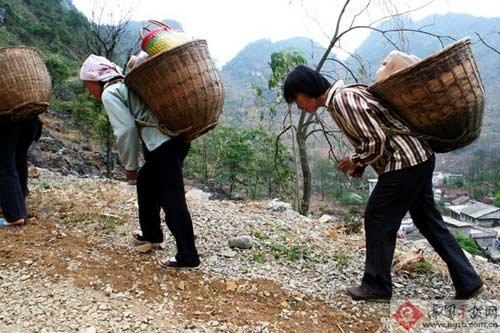 网帖称河池女干部旱区送水做秀 官方反驳(图)