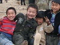 图片故事:贵州旱区的贫困小学