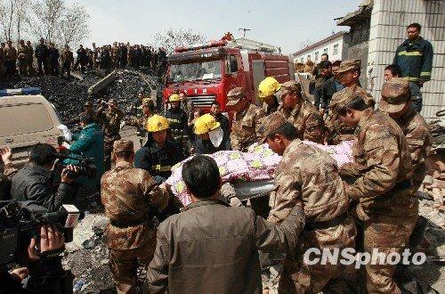 河南伊川矿难伤亡人数升至22人 实施高泡灭火