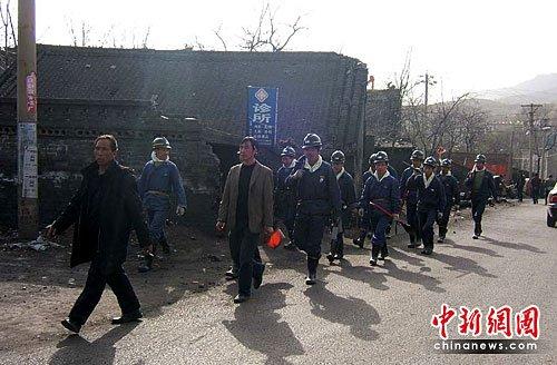 伊川煤矿爆炸两天后:疲惫的小街