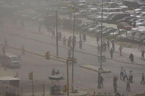 图文:巴格达市中心发生三起连环爆炸