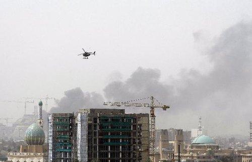 组图:巴格达发生针对伊朗和埃及大使馆爆炸