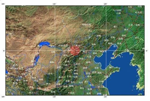 山西大同市阳高县大同县交界发生4.5级地震