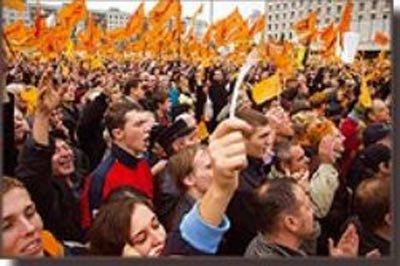 """资料:乌克兰17天""""橙色革命""""获胜"""