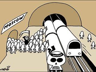 俄称因外媒刊登莫斯科地铁爆炸漫画感到受侮辱