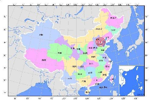 河北唐山发生4.1级地震 北京天津等地有震感