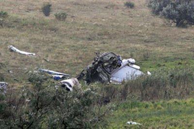 波兰总统卡钦斯基坠机画面曝光 大小碎块遍地