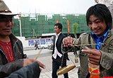 震前玉树:市场上做买卖的村民