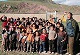 青海玉树灾区的孩子们